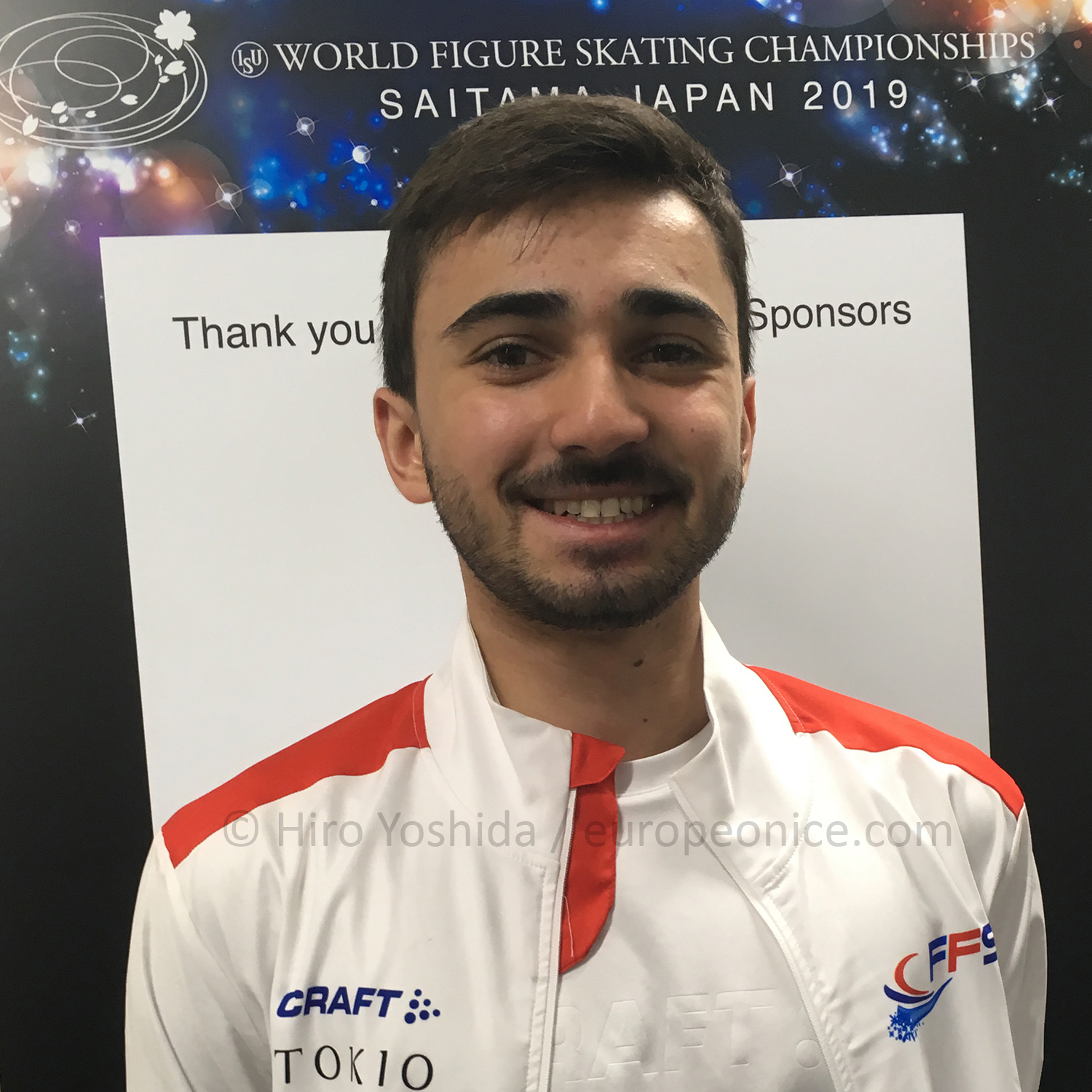 """Kévin Aymoz: """"My dream is not to be the champion""""   europeonice.com"""